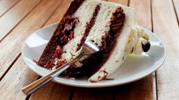 Picture of piece of cake