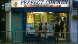 Picture of a chicken place in London