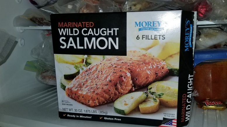 Morey's Wild Caught Salmon