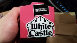 White Castle Impossible Slider Box