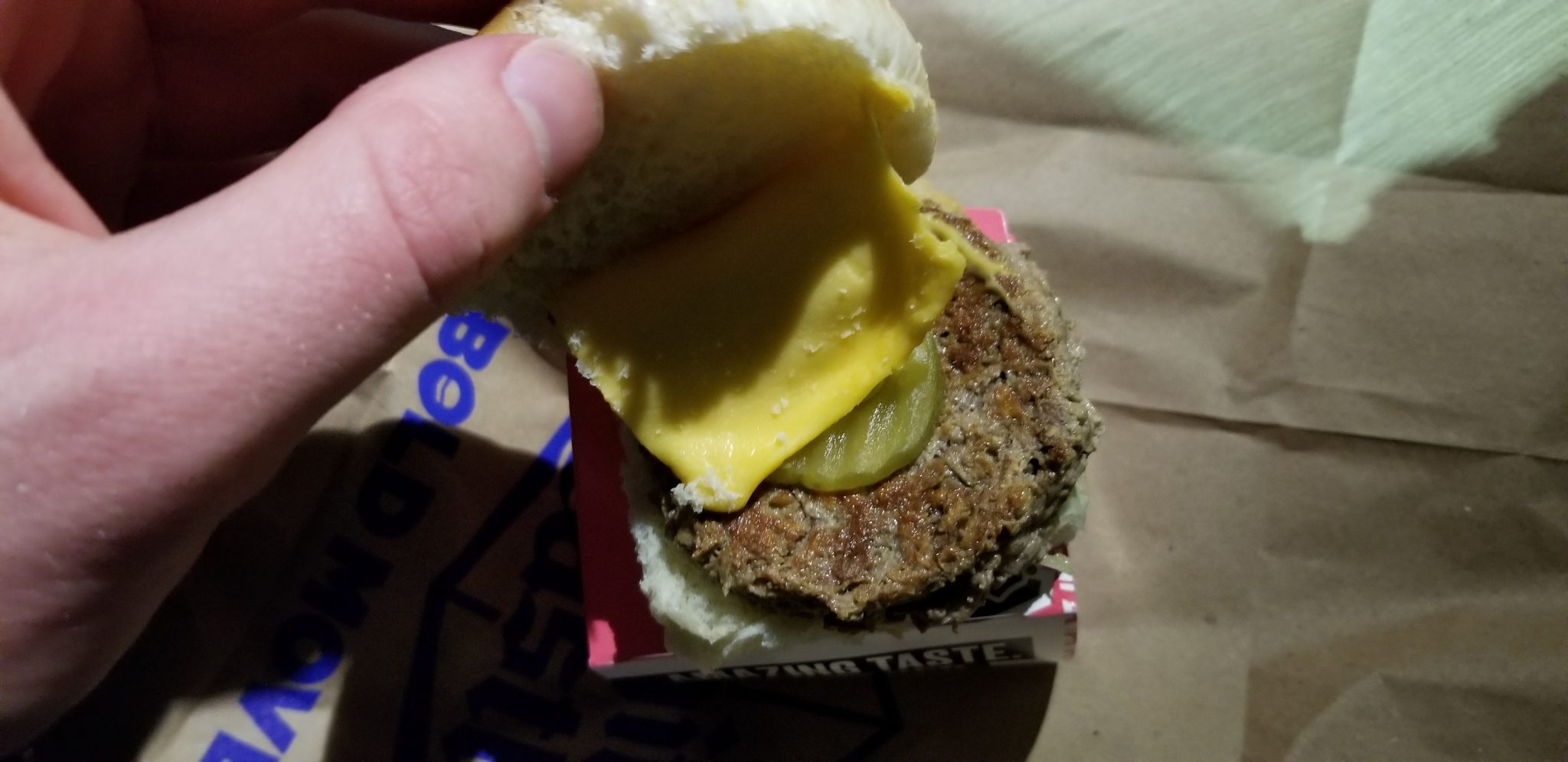 White Castle Impossible Burger Cheese