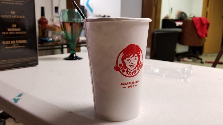 Wendy's Medium Vanilla Frosty