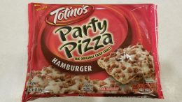 Totino's Party Pizza Hamburger Square Packaging