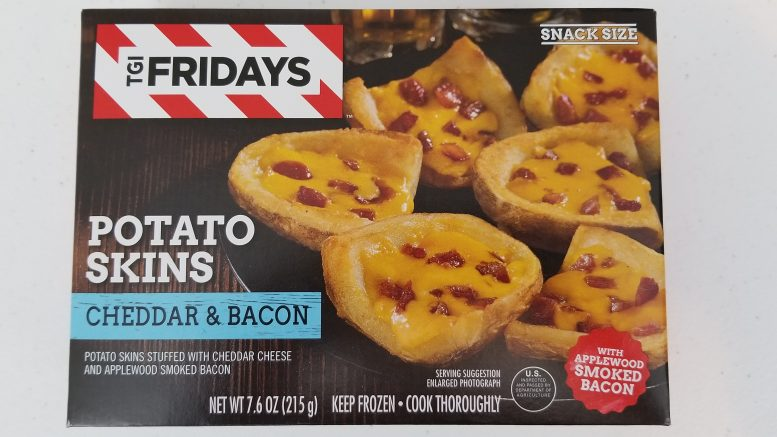TGI Fridays Potato Skins Cheddar & Bacon Box