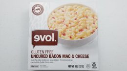 evol. gluten free uncured bacon mac & cheese