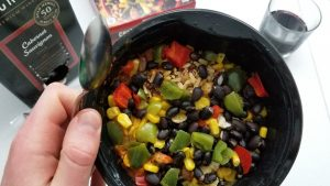 Trader Joe's Chicken Burrito Bowl After Cooking