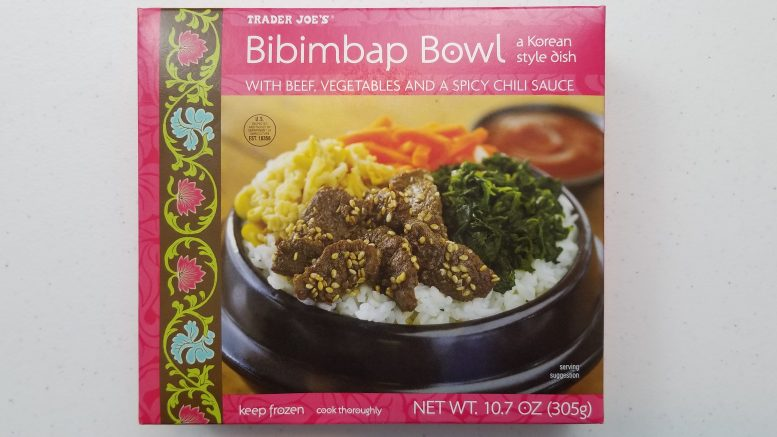 Picture of Trader Joe's Bibimbap Bowl Box