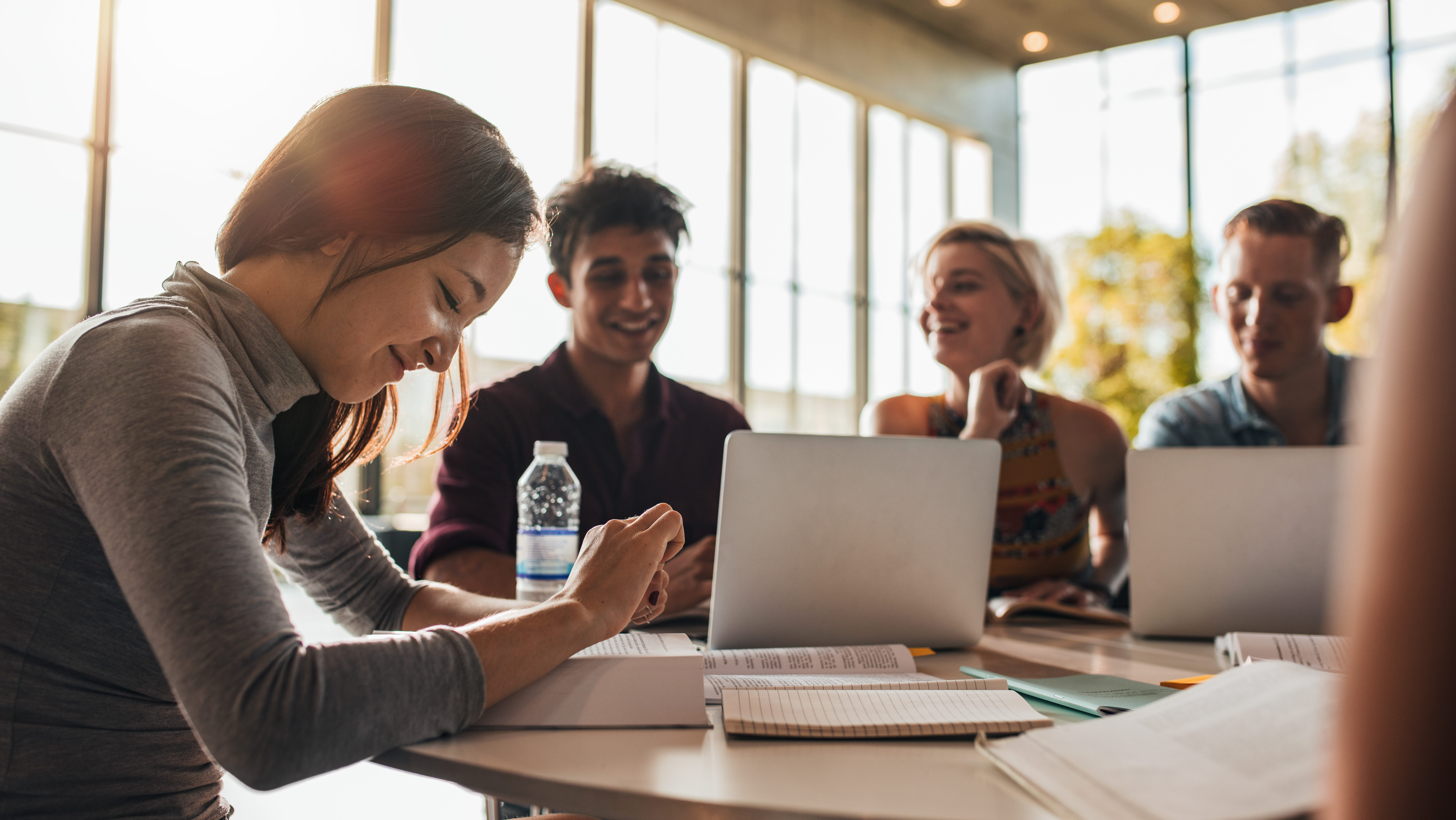 student loan refinancing research being done by students