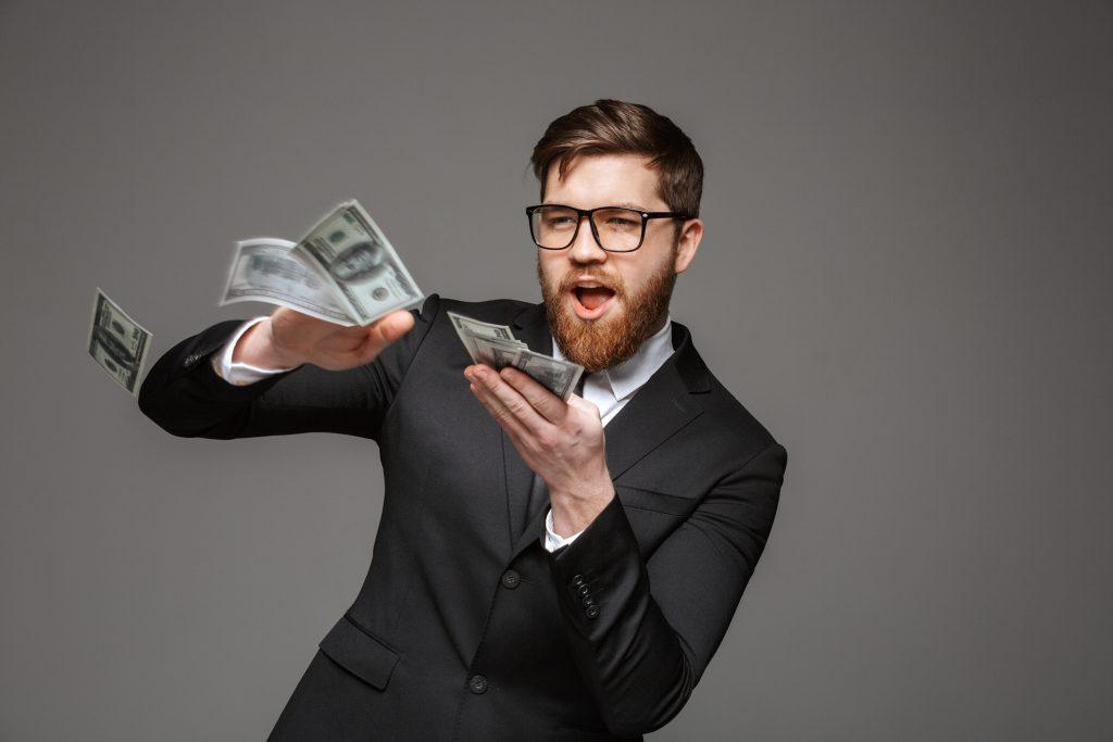 guy overspending on renters insurance