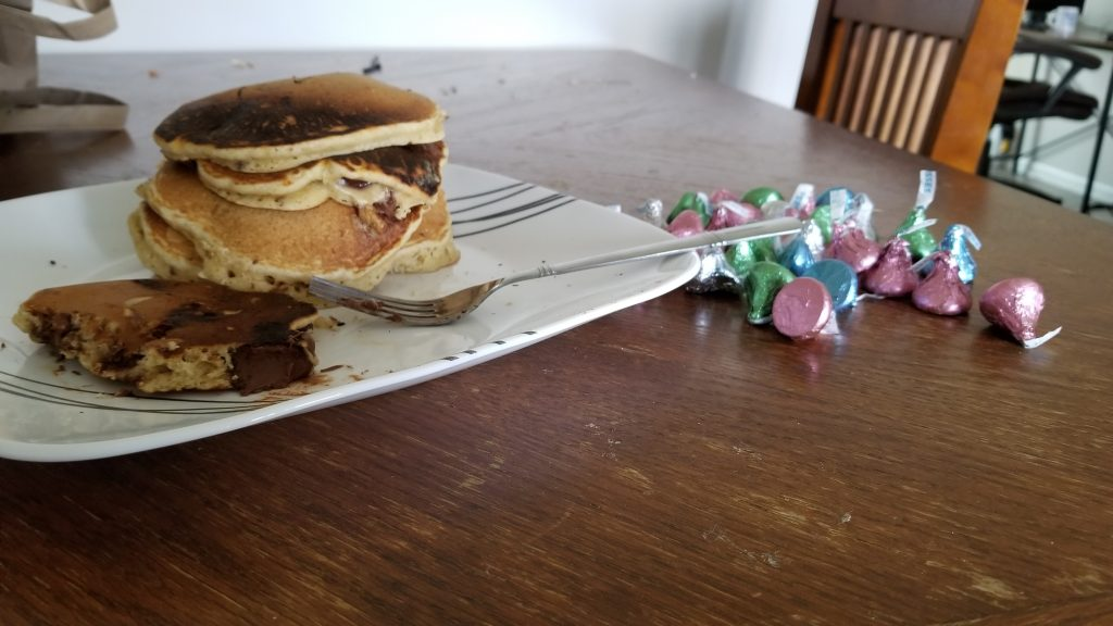 discount easter chocolate pancakes