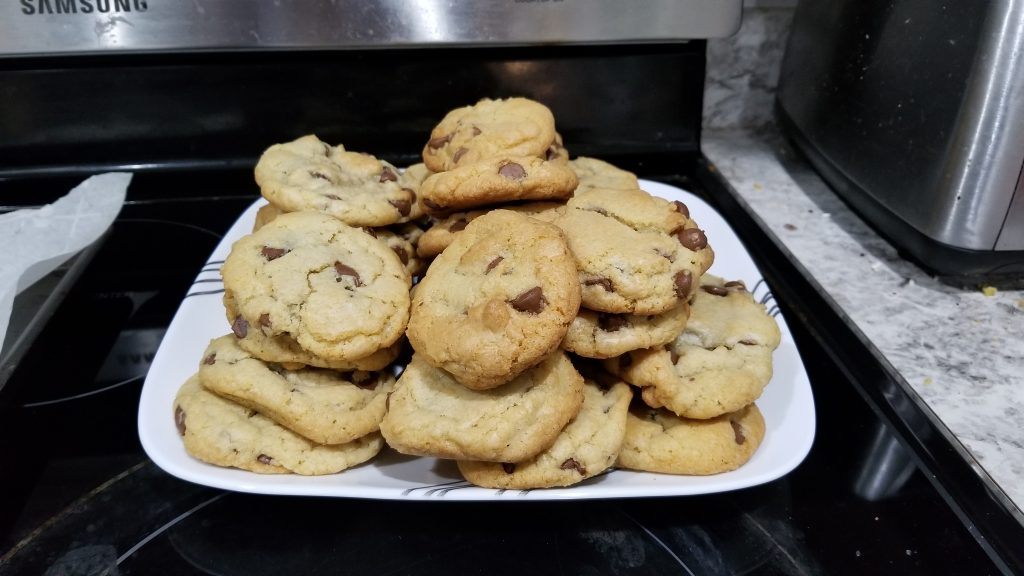 cookie plate with a lot of cookies on it