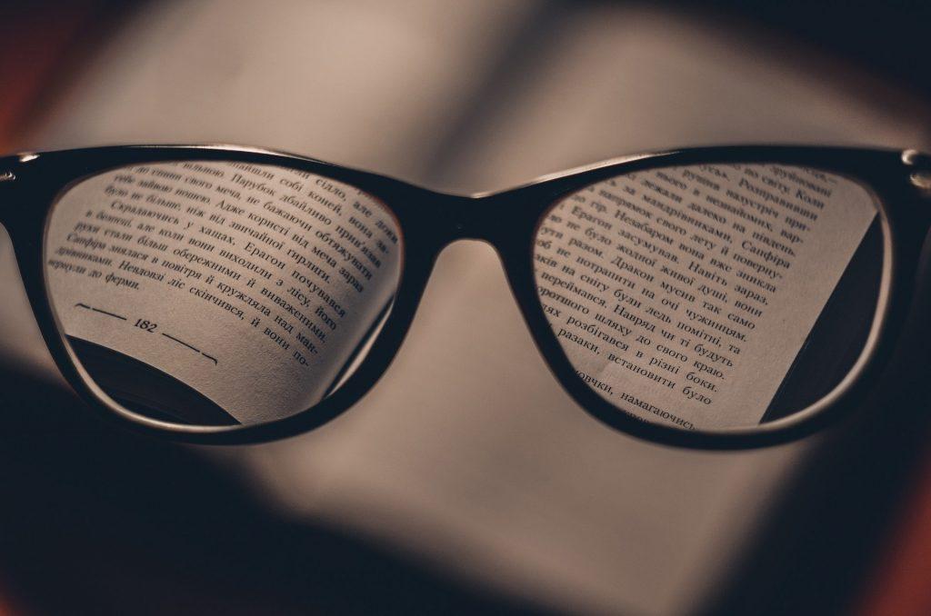 glasses focusing