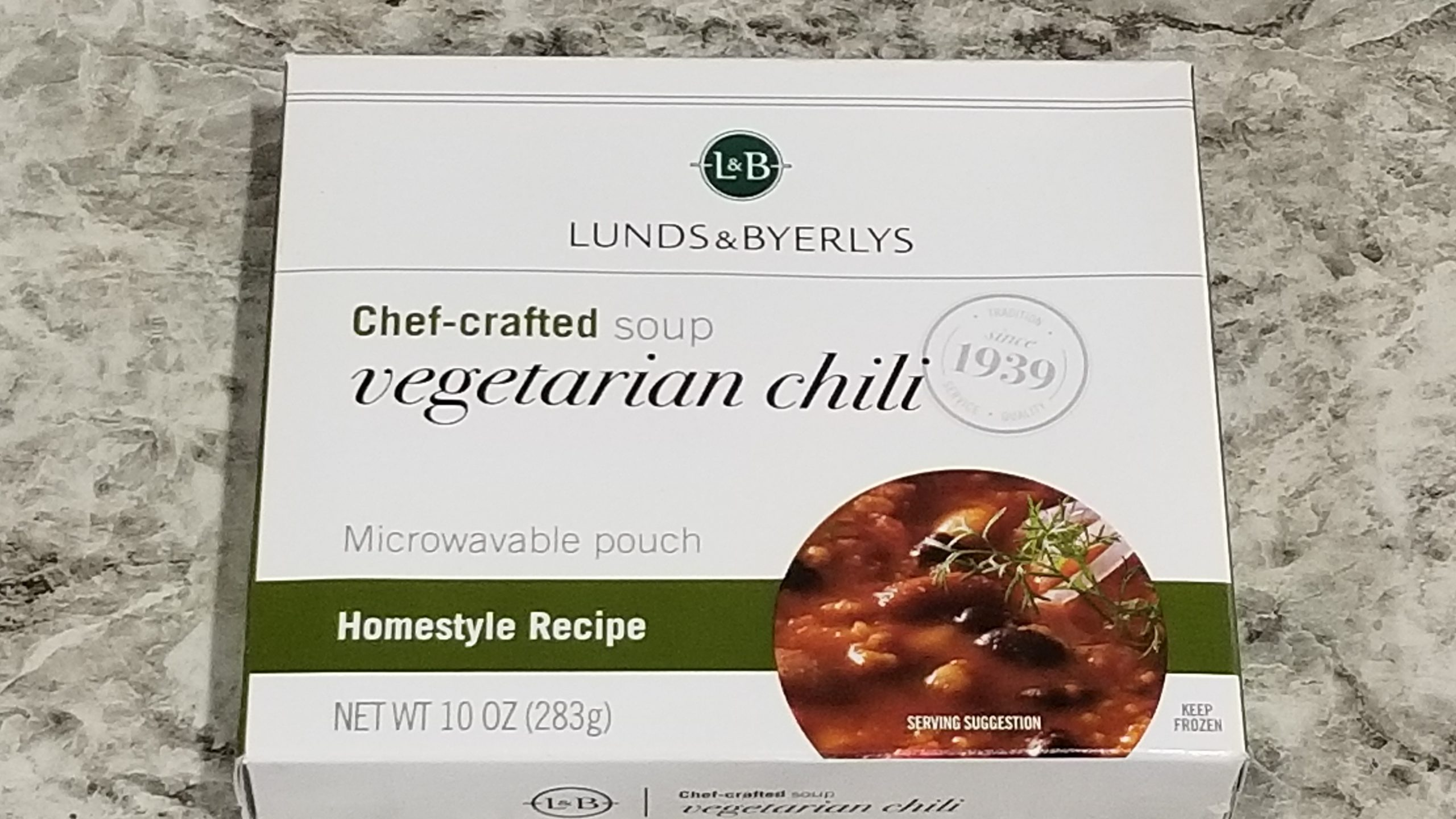vegetarian chili lunds and byerlys