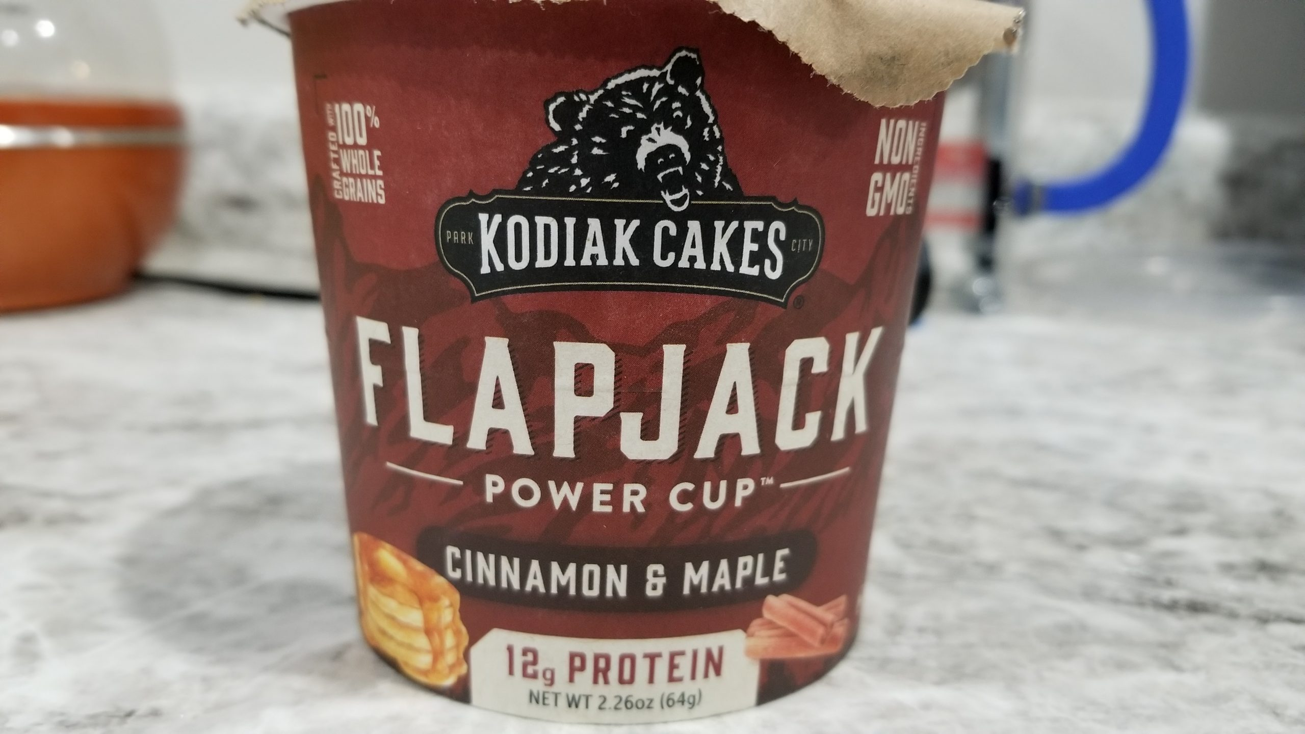 cinnamon and maple flapjack