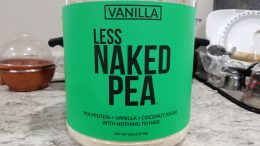 less naked pea protein