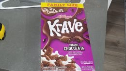 Krave double chocolate cereal review