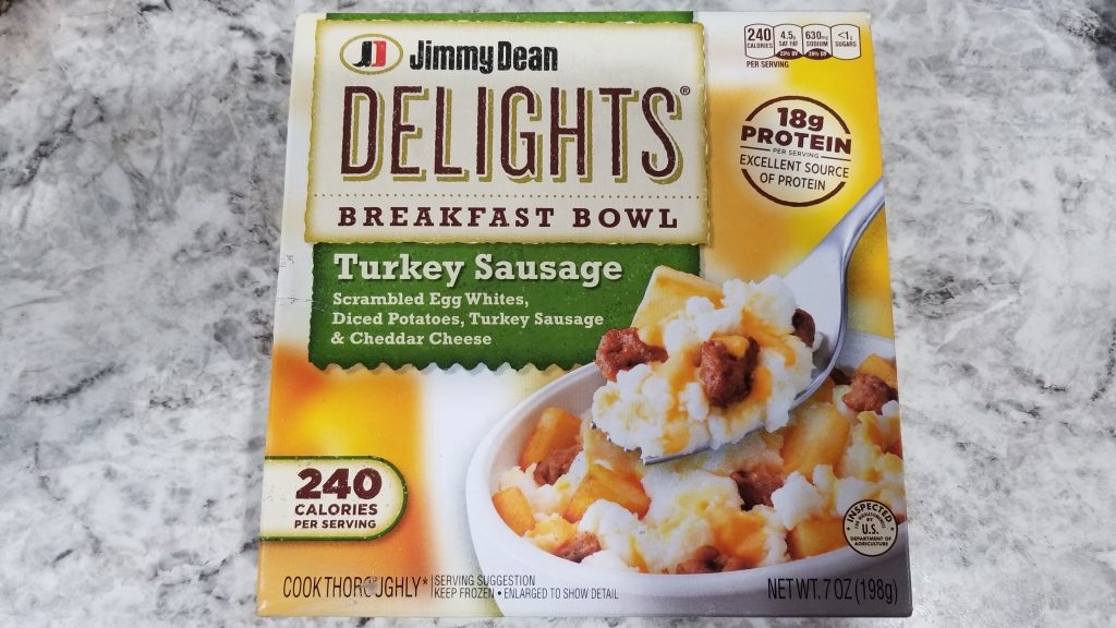 jimmy dean delights turkey sausage breakfast bowl review