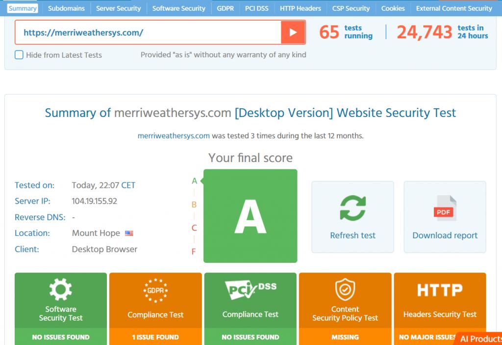 rocket.net web hosting security
