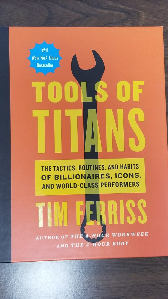 best business books Tools of Titans