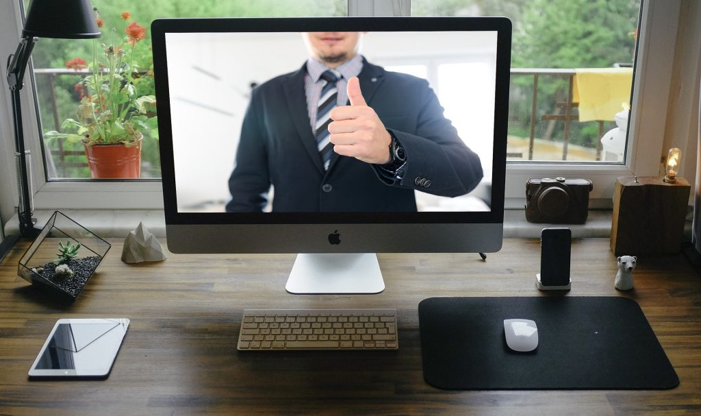 how to work from home: virtual meetings