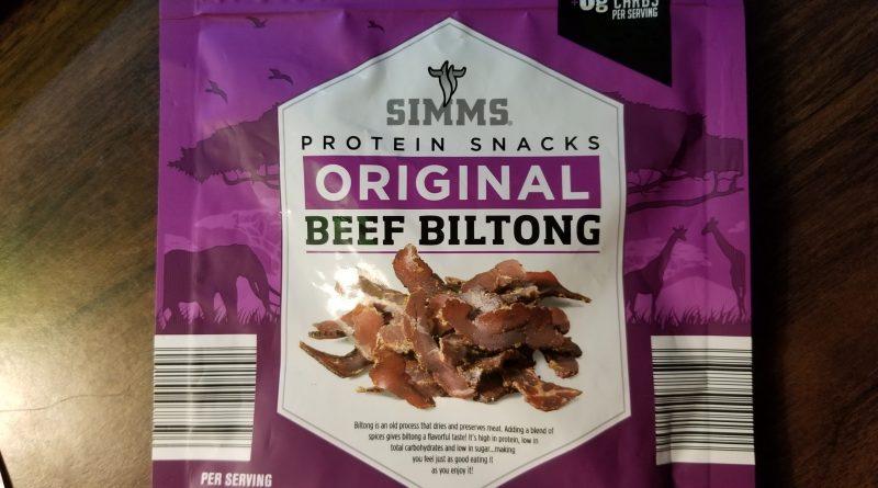 Simms Original Beef Biltong