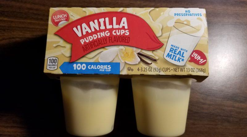 Vanilla pudding cups from Aldi