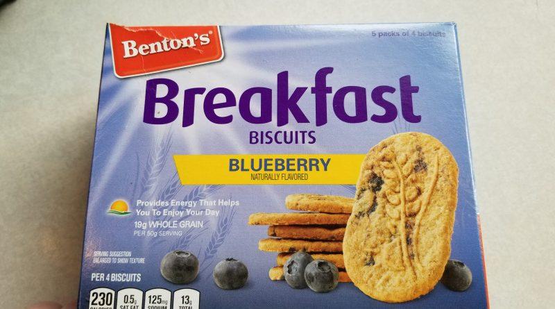 Benton's Blueberry Breakfast Biscuits