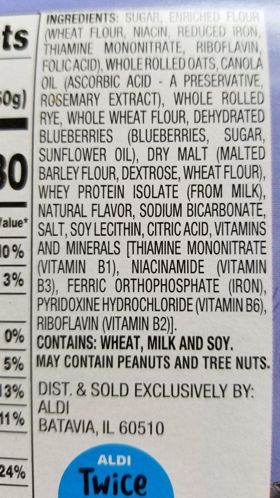 breakfast biscuit ingredients