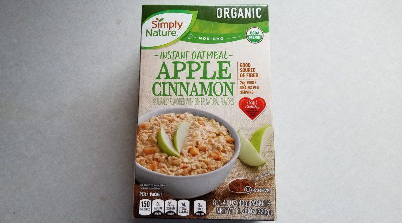 Simply Nature Apple Cinnamon