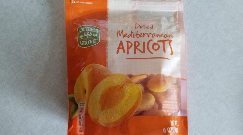 Aldi Dried Mediterranean Apricots