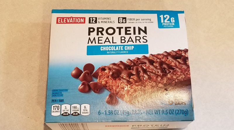 Elevation Protein Meal Bars