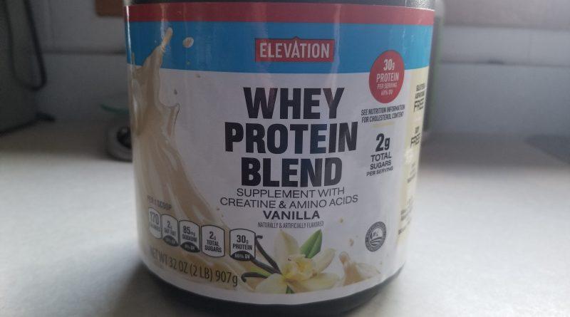 Elevation Vanilla Whey Protein Blend