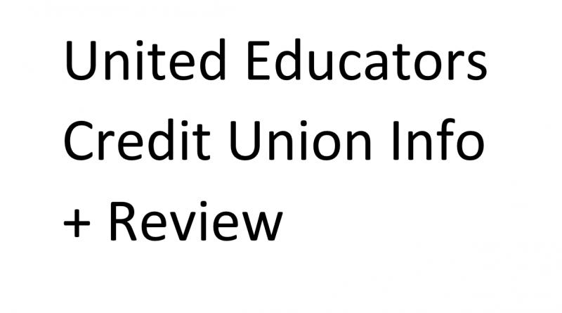 united educators credit union review