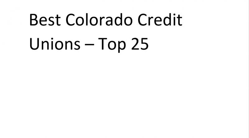 best Colorado Credit unions